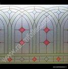 Raamfolie Glas in lood d-c-fix 45cm