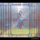 Raamdecoratiefolie d-c-fix transparant roze/rood/blauw 45cm