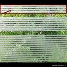 Statische raamfolie strepen strook d-c-fix 7,5cm x 2meter