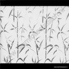 Statische raamfolie Bamboe Verticaal 67,5cm gekkofix