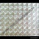 Statische raamfolie vierkanten 3-d 45cm