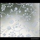 D-c-fix Statische raamfolie Tord wit (bloemen) 90cmx1,5m