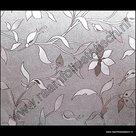 statische raamfolie bloemen