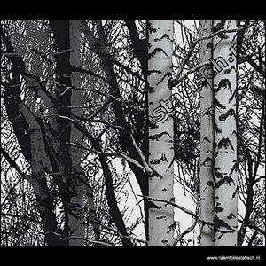 Statische raamfolie bomen Verticaal 67,5cm