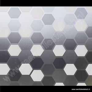 Statische raamfolie zeshoek wido 67,5cm d-c-fix premium