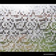 Statische raamfolie 0,5cm Blokjes 90cmx1,5m