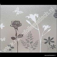 D-c-fix static premium raamfolie bloemen en vlinders 45cm x 15 meter(blossom)