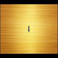 Plakfolie-geborsteld-goud