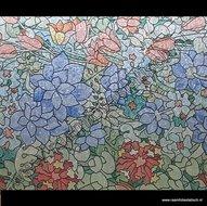 Raamfolie bloementuin 67,5cm