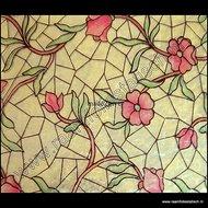 breed glas in lood raamfolie