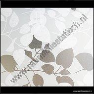 D-c-fix static premium raamfolie witte bladeren Amena 45cm