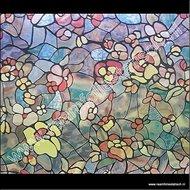 breed raamfolie glas in lood kleuren d-c-fix