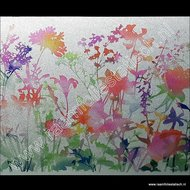 D-c-fix static premium raamfolie Flora kleuren
