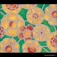 raamfolie kleuren bloemen